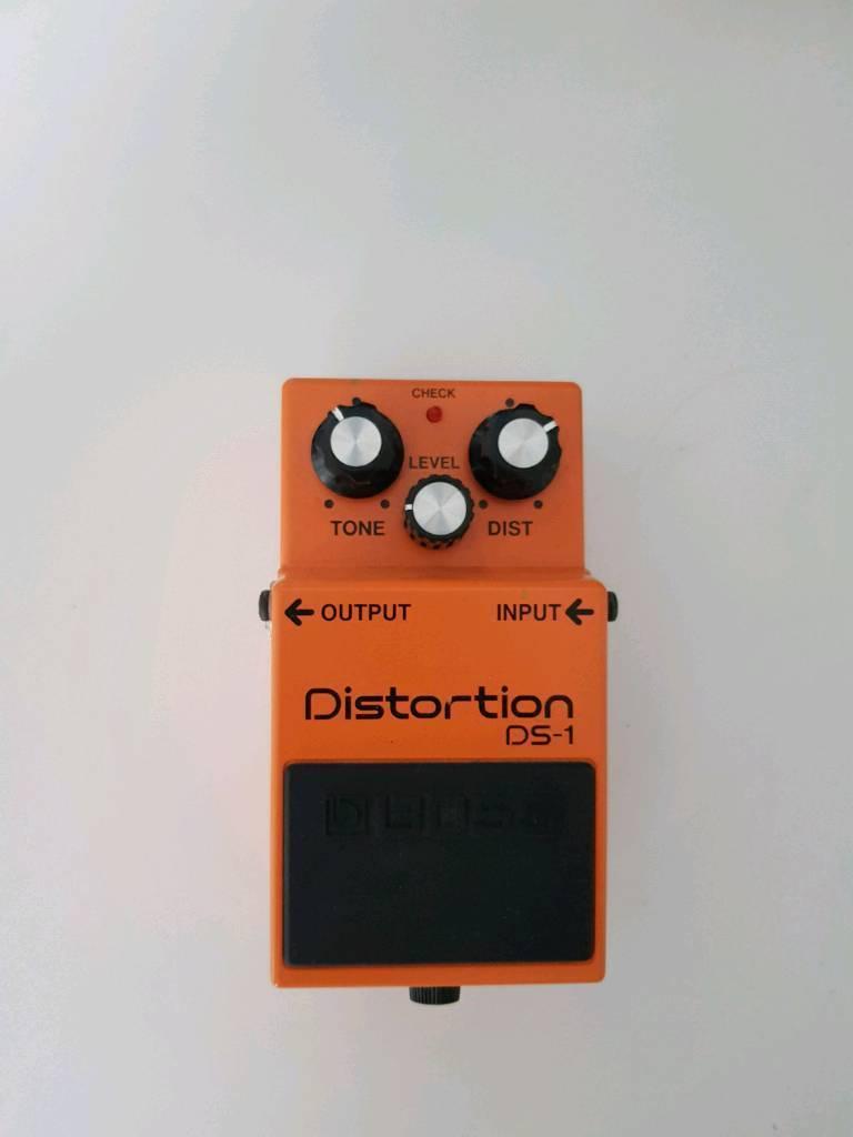 BOSS Distortion DS-1