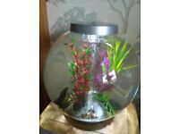 Biorb with light 30 litre silver