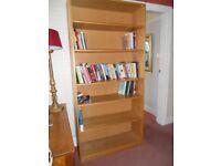 Habitat wooden bookcase