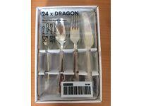 IKEA Dragon cutlery - 24 piece set
