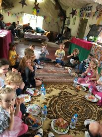 All inclusive Children's Birthday Parties in County Barn, Friendly Sheep & Chickens, Treasure Hunt