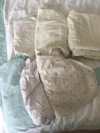 5 cotbed sheets