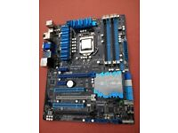 Intel i5-3570K + ASUS Z77 motherboard + 16GB Corsair Vengeance DDR3 1600Mhz