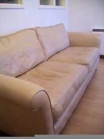 Leather Sofa Good Condition BARGAIN