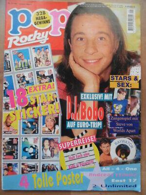 POP ROCKY 21 - 1994 (3) DJ Bobo Michael Jackson Rolling Stones Worlds Apart Reim ()