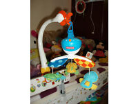 FOR SALE STROLLER 2 IN 1, MUSICAL CAROUSEL, PLAYMAT, WALKER ALL IN GOOD CONDITION.