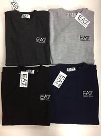 New Men's EA7 Armani jumpers size large