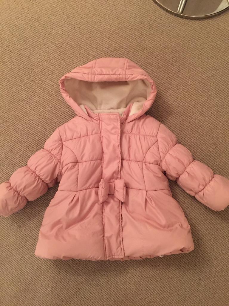 Baby girl winter coat 12-18 months
