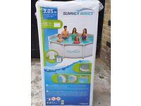 10ft summerwaves pool