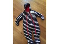 Jojo Maman Bebe Snowsuit age 3-6mths BNWT