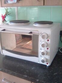 ambiano oven,grill,2 hotplates