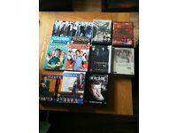 Dvd box sets including red dwarf, spooks, house ,e.t.c