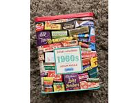 500 piece '1960s sweets' puzzle