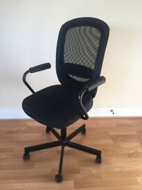 Office chair with armrests in good condition