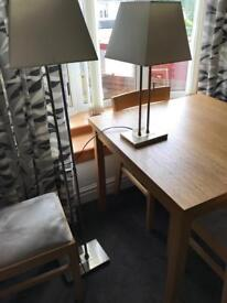 Matching Floor and Standard Lamps——-FLOOR LAMP SOLD.
