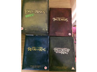 The Lord Of The Rings Complete DVD Set