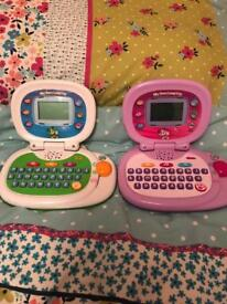 Leapfrog laptops £10 each