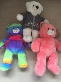 Build a bear bundle - 3 bears