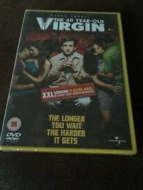 The 40 year old virgin dvd *new*