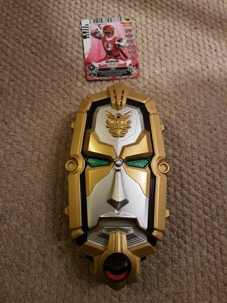Power rangers action card reader