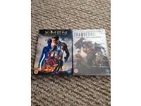2 bnib sealed DVDs. Transformers and x- men