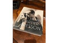 Henri Cartier-Bresson, large photography/coffee table book, great condition.