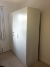 Almost new wardrobe from ikea. Used only 4 months.