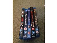 Blue rays dvds