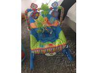 Baby bouncer / baby walker / bumbo chair