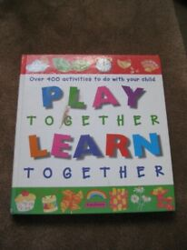 Kingfisher Play Together and Learn Together in Colour by Melanie Rice for £5.00