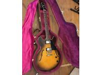 1989 Gibson ES-335 Dot Semi Hollow Vintage Guitar - Tobacco Sunburst - Trades