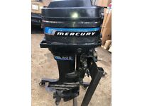 Mercury 50HP Outboard. Long shaft with remotes