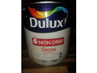 Dulux Non Drip Gloss High Sheen Pure brilliant White