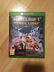 Minecraft story mode XBOX ONE for sale.