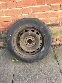 1997-2007 KA wheel and tyre