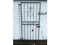 Security gate metal gate security grill burglar bars