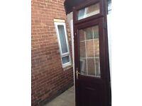 upvc back door with keys £40