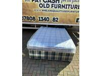 Double devan bed complete with brand new matress £150
