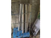 55 Inch Tall Stainless Steel Bollards