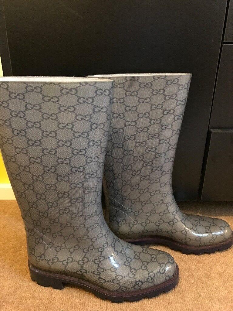 8afabe62073 Gucci Rain Boots