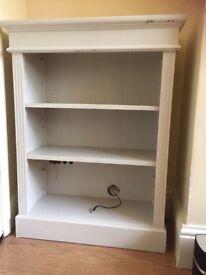 Solid Pine Painted bookshelf