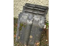 Curve concrete slabs