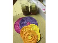 Wedding/Party Hurricane Lamps and paper lanterns