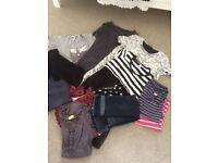 Maternity clothes bundle size 12