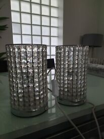 Lamps crystal effect 2