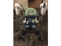 Baby 3in1 swing rocker infant seat