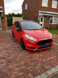 Ford fiesta st-2 180bhp facelift model