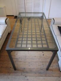 Glass Dining Table - IKEA Granas
