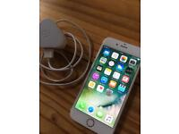 IPhone 6, works perfectly, on EE, comes with a charger