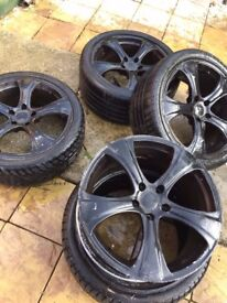 Volkswagen Golf alloys 225/40/18